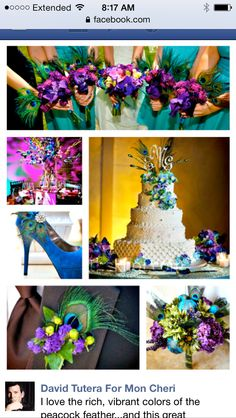 Peacock wedding.