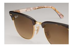Ray-Ban 0RB3016-CLUBMASTER at Collection Tortoise,Gold; Tortoise,Multicolor SUN