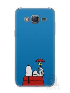 Capa Capinha Samsung J5 Snoopy #9 - SmartCases - Acessórios para celulares e tablets :)