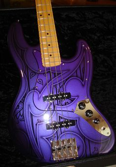 to go with my purple baby grand & drum set. :)