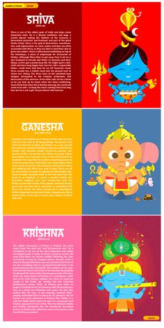 the-little-book-of-hindu-deities - great for teaching kids about hindu mythology