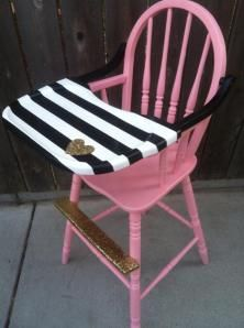 Before u0026 After. High ChairsPainted ... & Painting Props-High Chair u0026 Newborn Bed Tutorial | Painted high ...