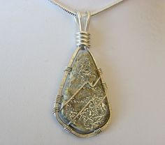 ★ Silver Lining ★ Sharing for Nancy Bailey - Alhambra Mine Native Dendritic Silver Cabochon from New Mexico Wrapped in Sterling Silver Wire https://www.facebook.com/permalink.php?story_fbid=1564303450486693&id=100007211597708&substory_index=0