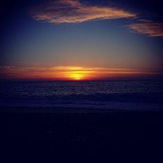 #Sunset #beach #porto #corse