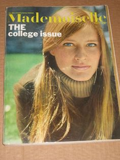 400 PAGE August 1966 MADEMOISELLE magazine~College issue