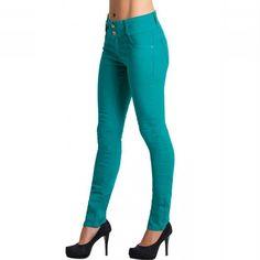 Look Lindo!!   CALÇA SKINNY VERDE  COMPRE AGORA!  http://imaginariodamulher.com.br/produto/calca-skinny-verde-2/ #comprinhas#modafeminina#modafashion#tendencia#modaonline#moda#instamoda#lookfashion#blogdemoda#imaginariodamulher