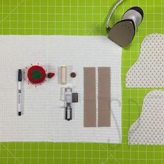 Come cucire lo strofinaccio da cucina con Sara Poiese Dish Towel Crafts, Dish Towels, Sewing Patterns Free, Free Pattern, Crochet, Diy, Hobby, Oven, Kitchen