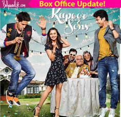 Kapoor & Sons box office collection: Alia Fawad and Sidharth starrer earns a FANTASTIC Rs 59.02 cr as of now!