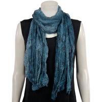 Very Trendy - Crinkle Snake Print - Blue