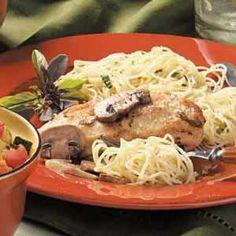 <3 Classic Chicken Marsala With Mushrooms