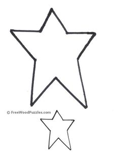 Primitive Star STENCIL With 11 Total Sizes 1 8 For Painting