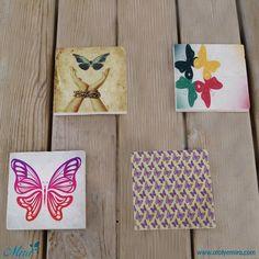 Limra taş baskı bardak altlıkları Ölçü:10x10 cm  Satın almak için www.atolyemira.com adresini ziyaret edebilirsiniz