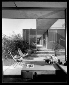 Shulman House, Los Angeles by Raphael Soriano (1951)