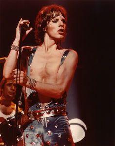 Mick Jagger, Europe Tour '73