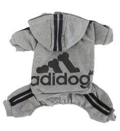 Scheppend Adidog Pet Clothes for Dog Cat Puppy Hoodies Coat Winter Sweatshirt Warm Sweater >>> Want to know more, visit the site now : Cat Apparel