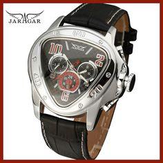 Fashion Luxury Men Automatic Mechanical Wrist Watches Top Brand WINNER  Triangle Men s Watches 3 Sub-dials 6 Hands reloj hombre 1cb91c79f26