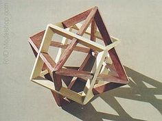 """Octahedron & Cube """"Dual"""" wood model (~RND Modelshop) Tags: wood sculpture art geometric design education triangle tech display geometry engineering puzzle dome technical sacred mathematics educational teaching centerpiece geodesic polygon pentagon woodworking artisan dodecahedron academics polyhedron geodome geometria geodetic polyhedra geometrie matematicas goldenratio matematica dodecaedro sacredgeometry icosaedro mathematicalmodel cuboctohedron"""