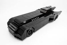 Batman: The Animated Series Batmobile - Brent Waller Minecraft S, Cool Minecraft Houses, Minecraft Buildings, Lego Batmobile, Batman Logo, Batman Batman, Lego Batman Movie, Lego Dc, Lego House