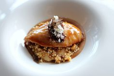 Butter poached coturnix quail breast | by Wil and Lil