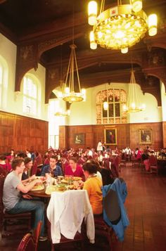 Ithaca New York Cornell University dining hall