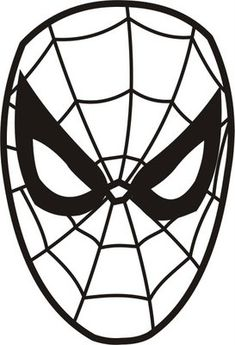 "Spiderman face drawing represents a fictional superhero belongs to the Marvel Cinematic Universe with a character named ""Peter Parker"" Spiderman Birthday Cake, Spiderman Face, Spiderman Cookies, Male Face Drawing, Face Sketch, Spaider Man, Halloween Pumpkin Carving Stencils, Boat Drawing, Drawing Tips"