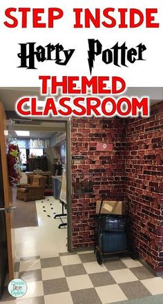 Amazing Harry Potter themed Classroom. Check out all of the great ideas that you could implement in your own Harry Potter themed classroom. Students would love to be in this engaging room. | Create Dream Explore
