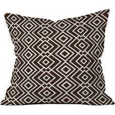 DENY Designs Khristian A Howell Theory Wallpaper Throw Pillow ($45) ❤ liked on Polyvore featuring home, home decor, throw pillows, deny designs, deny designs throw pillows and deny designs home accessories