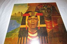 Pharoah and Queen of Egypt Sherman Edwards 1974 by LOculture