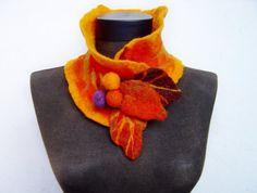 The warmth of nature presents - evalinen wool felt jewelry