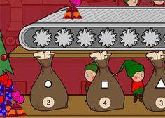 TES iboard: Activity - Christmas Present Sorting