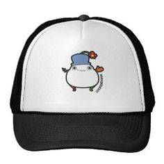 Cute Little Snowman by SiMPLiFi Mesh Hat