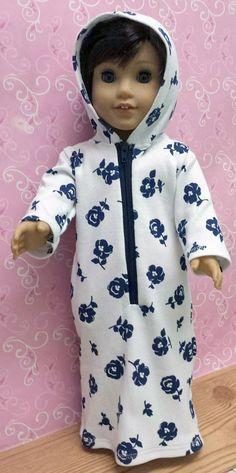Jozel Watson's robe from Hoodie Robe pattern by Matilda's Closet