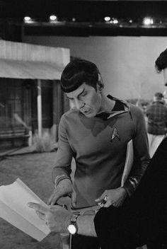 Leonard Nimoy (Mr. Spock) - Behind the Scenes of Star Trek: The Original Series (1966-69)