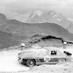 Mercedes 300SL Rally