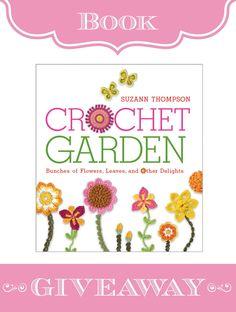 """""""Crochet Garden"""" Book Giveaway"""