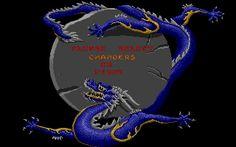 Jeux Atari ST -> Chambers of Shaolin