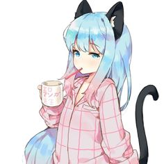 So kawaii ^^ Anime Neko, Lolis Neko, Gato Anime, Anime Manga, Kawaii Neko Girl, Manga Kawaii, Loli Kawaii, Kawaii Girl Drawing, Girls Manga