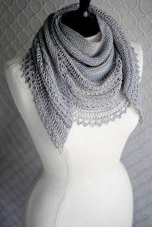 B/X.....Inspirasjon Til Håndarbeide!: Nydelige Henslowe- sjalet!