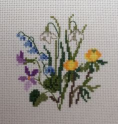 nilDesigned by Eva Rosenstand Cross stitched by Teresa