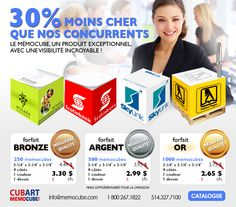 Cubart-Promotion MEMOCUBE- http://www.creatchmanpromo.ca/