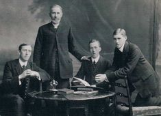 David Lewis KIRK, Rev. John KIRK, Dr. Edward Wilfred KIRK, Dr. Henry Bruce (Harry) KIRK