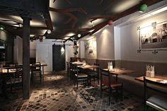 Pedro Scattarella – Dissenyados Arquitectura designed the 'Restauarant OMBU' in Spain. http://en.51arch.com/2014/07/i0009-ombu/