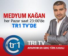 Medyum Kağan TR1 TV ekranlarında.