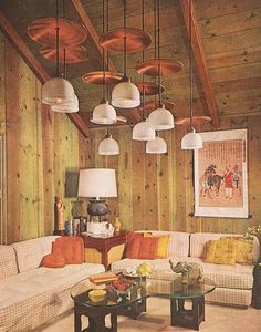 1000 images about vintage rooms on pinterest 1950s for Garden design 1960s