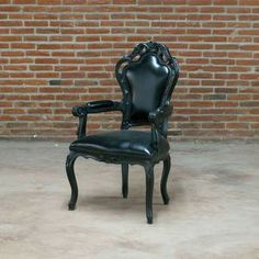 Armchair Black now featured on Fab.