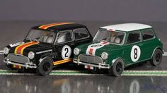 Scalextric ATCC 1964 Mini Coopers Ltd. Ed.  Set (C3586A) frente Slot Cars
