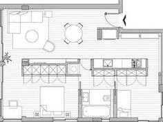 small apartment plans - Buscar con Google
