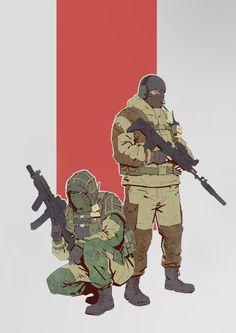 Russia Specnak спецназ ФСБ Glaz&Kapkan (R6:S)