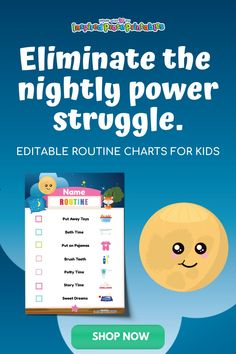 A colorful bedtime chart makes bedtime fun for kids! Use this kids bedtime routine template to create a bedtime schedule that's easy to follow. #bedtimeschedule #bedtimechart #bedtimeforkids #kidsbedtimeroutine #inspiredproseprintables Bedtime Chart, Bedtime Routine Chart, Morning Routine Chart, Daily Routine Chart, Night Routine, Printable Chore Chart, Chore Chart Kids, Printables, Daily Schedule Kids
