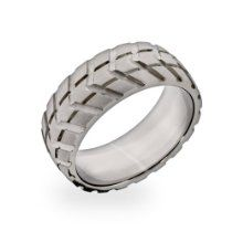Men's Stainless Steel Tire Ring https://www.facebook.com/115224581996767/photos/a.115237391995486.1073741828.115224581996767/406103942908828/?type=1&theater